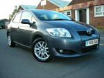 08/08 Toyota Auris 1.6 T3 5 door A/c