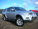12/12 Mitsubishi L200 Pick Up double cab Barbarian Di_D Auto 4wd 4 wheel drive 176bhp A/c