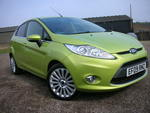 09/09 Ford Fiesta 1.4 Titanium five door A/c