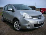 09/09 Nissan Note 1.4 Acenta 5 door A/c