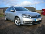 61/11 VW Volkswagen Passat 1.6 tdl Bluemotion Estate A/c