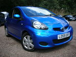 10/59 Toyota Aygo 1.0 Blue special edition A/c