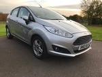 13/13 Ford Fiesta Zetec 1.5 tdci 5 door A/c  free road tax.
