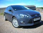 63/13 Ford Focus 1.6 diesel Zetec 115 five door A/c