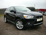 11/11 Mitsubishi 1.8  ASX3 Clear Tech Di_D 5 door.