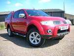 61/11 Mitsubishi L200 Warrior pick up DI-D 4wd pick up double cab A/c